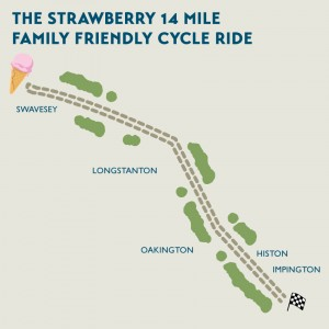 Histon-Swavesey bike ride