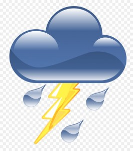 Thunder weather symbol