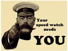 Speedwatch Needs You